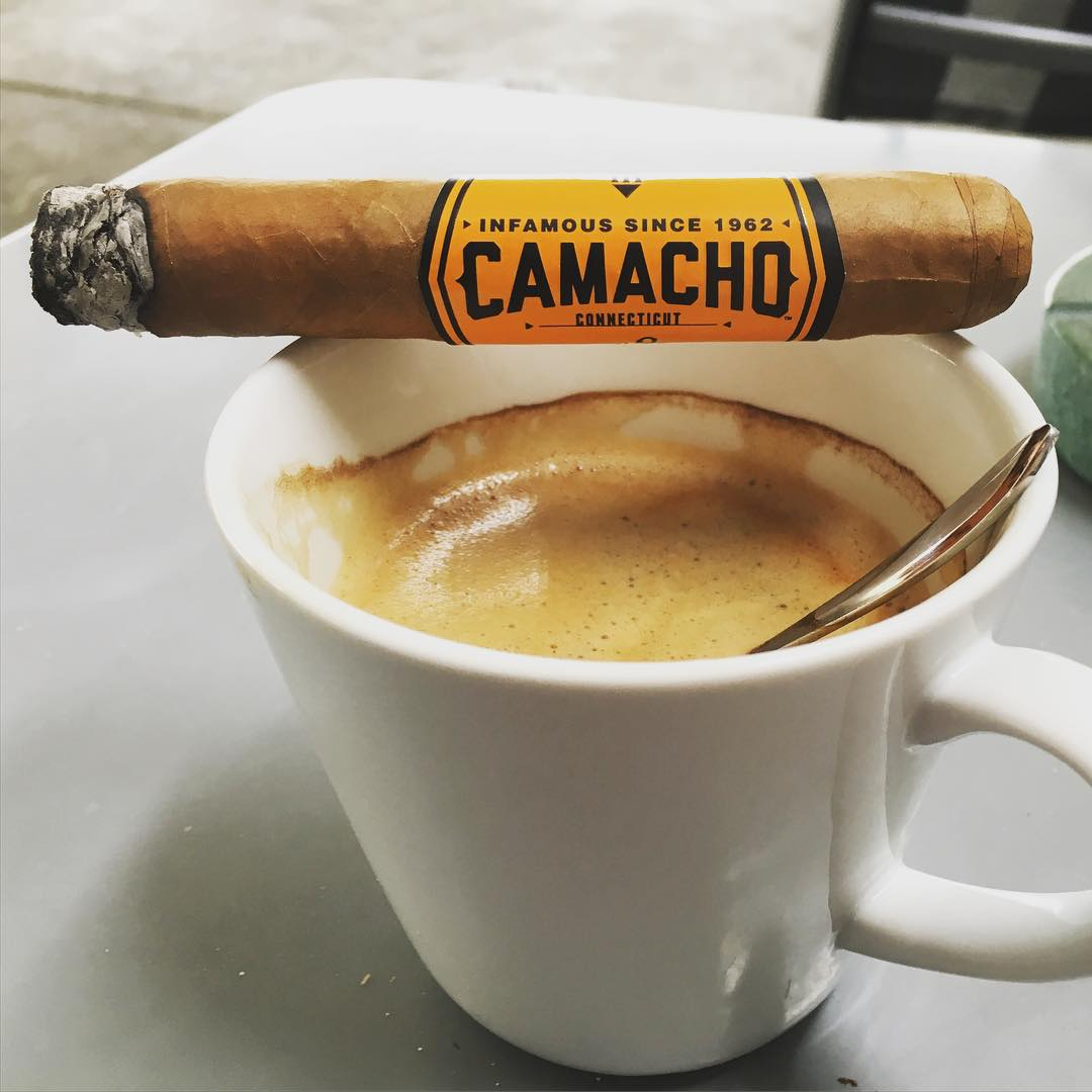 Danke wanderhotelier fr das sehr leckere Pusli  cigar camacho