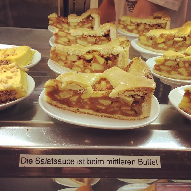 Apfelkuchen lieber Französisch oder Italienisch?